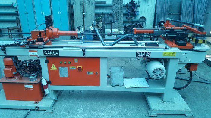 Дорновый полуавтоматический трубогиб Cansa Makina CMН 42