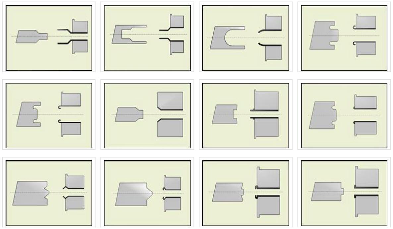 Примеры формовки концов труб