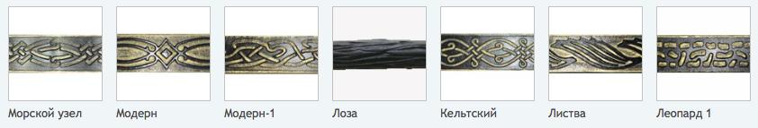 Изделия производимые на станки СХК-2
