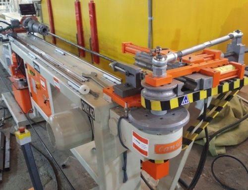 Поставка станка Cansa Makina CMH 42 компанией ТР-Пром в Челябинск. Изготовление подъёмников для инвалидов.