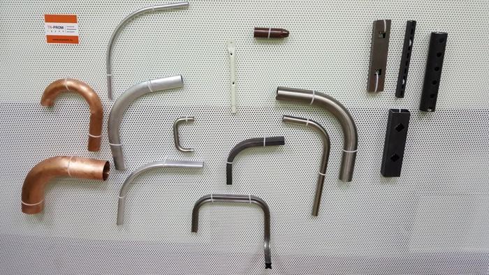 Образцы гнутых труб
