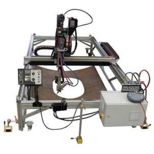 Станок плазменной резки «МСМ» с ЧПУ для вырезки отверстий