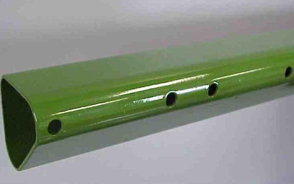 Примеры пробивки на трубе MTS 3