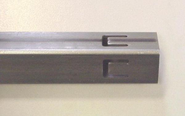 Примеры пробивки на трубе MTS 4