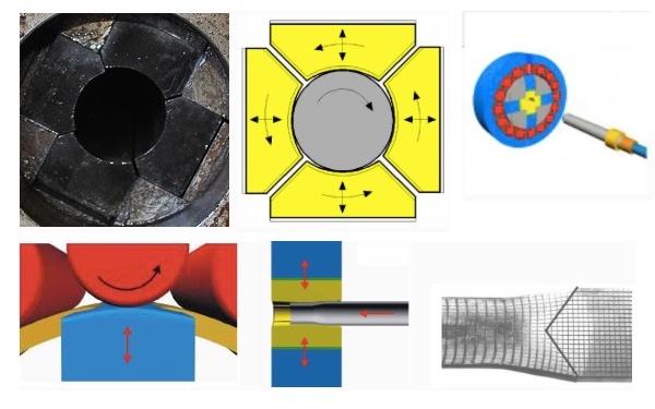 Технология ротационной ковки