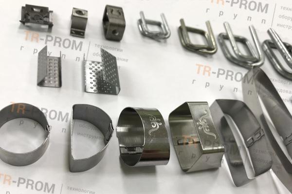 Станок для формовки штрипса, примеры изделий