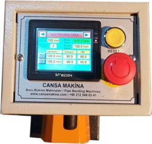 NC панель управления на трубогиб Cansa Makina CM