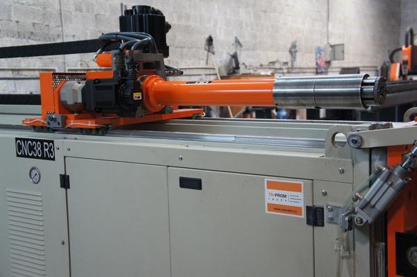 Гидравлическая каретка автоматического трубогиба Cansa Makina
