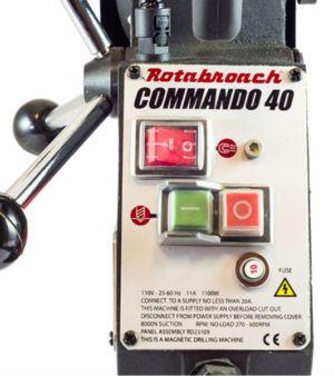 Магнитный сверлильный станок Commando 40 Rotabroach - Галерея 2