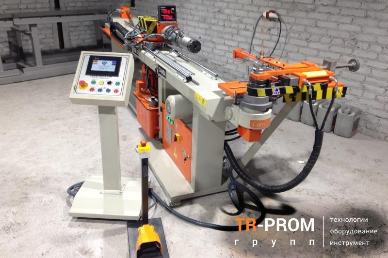 Поставка трубогиба CMH 32 с автоматической кареткой
