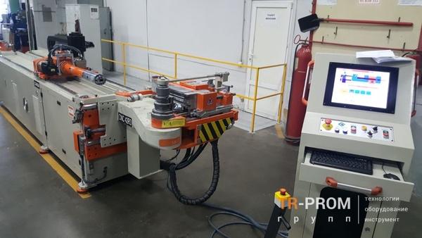 Автоматическая гибка трубы на станкеCansa Makina CNC 42R3