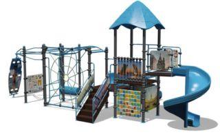 Изготовление детских площадок и уличных тренажёров