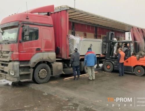 Поступление новой партии оборудования на склад компании ТР-Пром