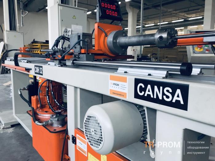 Трубогиб для тачек Cansa Makina CMH 32