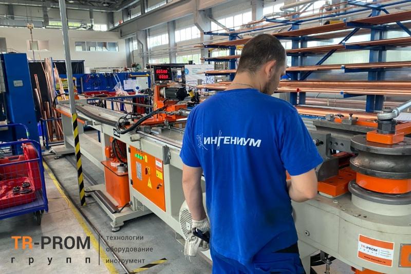 Производство холодильного оборудования. Поставка станка Cansa Makina CMH 90