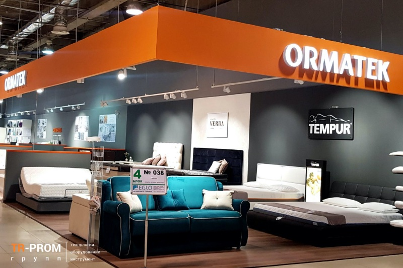 Изготовление каркасов кроватей. Поставка производственной линии на ORMATEK