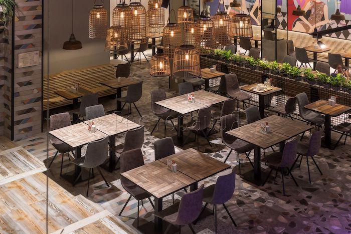 Изготовление мебели для ресторанов - Ресторация